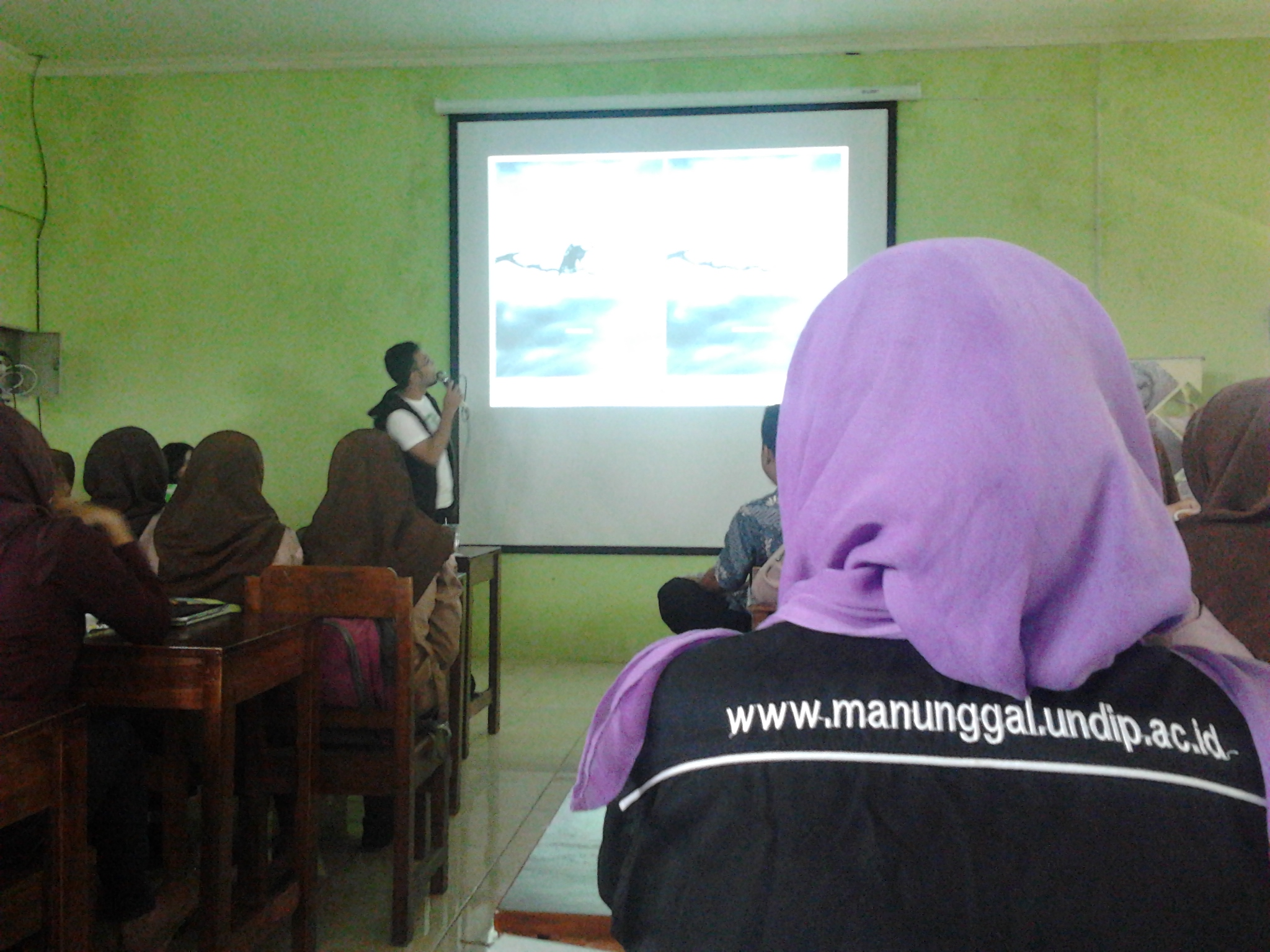 Mongabay Kunjungi SMK NU Ungaran