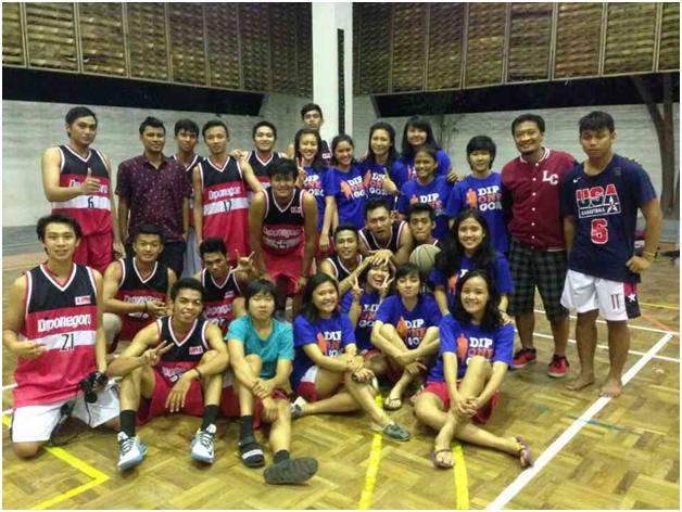 Bola Basket Universitas Diponegoro