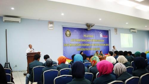 Undip Gelar Pelatihan bagi Mahasiswa Penerima Bidikmisi Tahun 2012