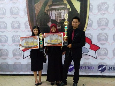 Undip Juarai Kompetisi Debat Tingkat Nasional