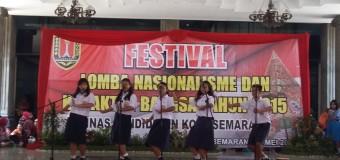 Pelajar Semarang Ikut Andil dalam HUT Kota Semarang