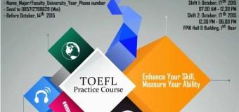 Manunggal TOEFL Practice Course