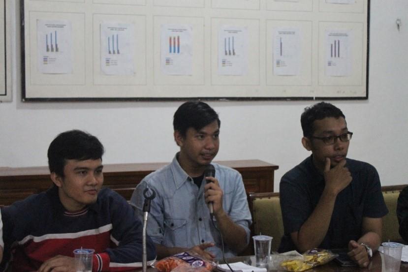 Suasana pembentukan Ikatan Mahasiswa Sumatera Utara di Kantor Kelurahan Bulusan Kota Semarang, Rabu (30/12). (Dok. Pribadi)