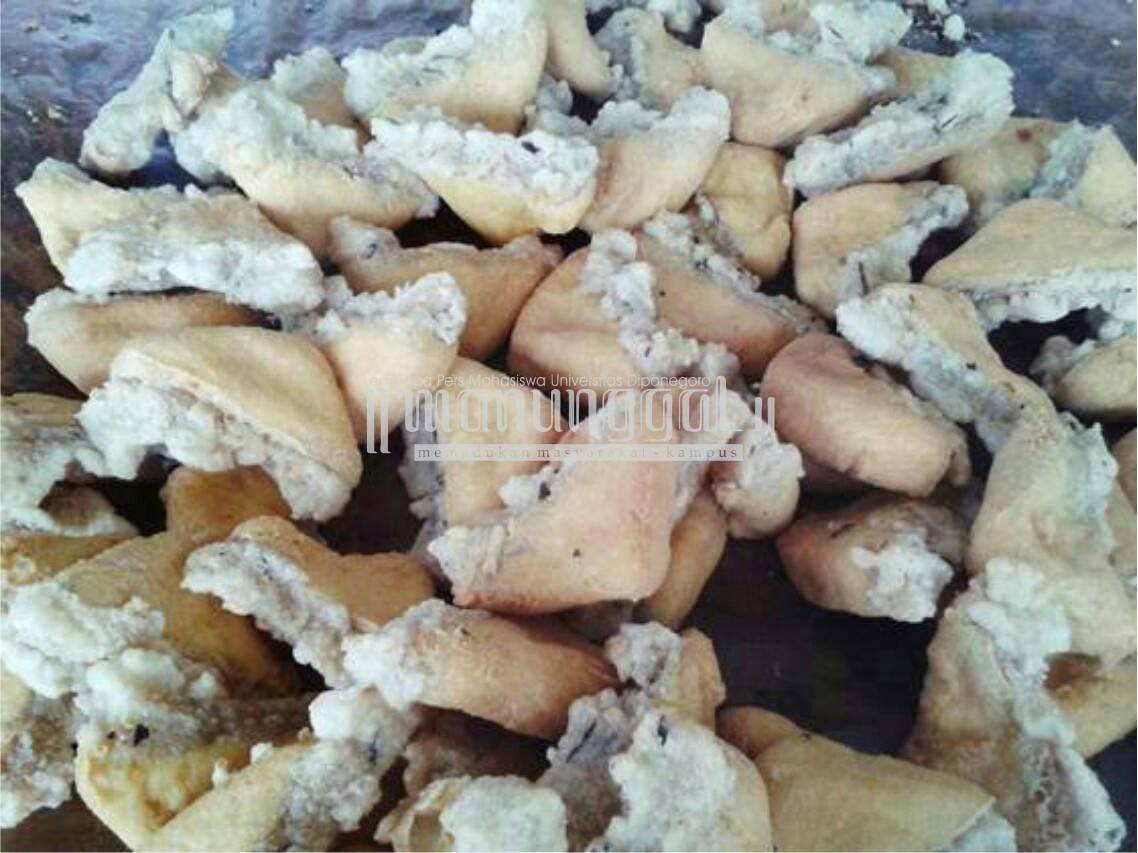 Selain kuliner olos, Kota Tegal juga terkenal dengan tahu aci yang kerap dijadikan pilihan sebagai oleh-oleh (Nina/Manunggal)