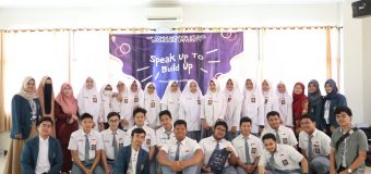 Kelas Internasional Ikom Undip Sukses Gelar Roadshow Speak Up to Build Up