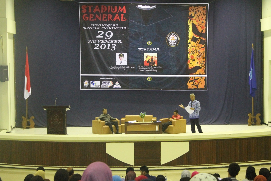 "BEM KM Undip Adakan Kuliah Umum ""Diponegoro untuk Indonesia"""
