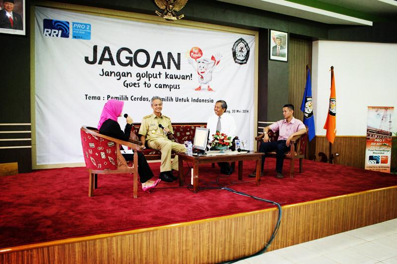 BEM KM Gelar Talk Show JAGOAN Goes To Campus
