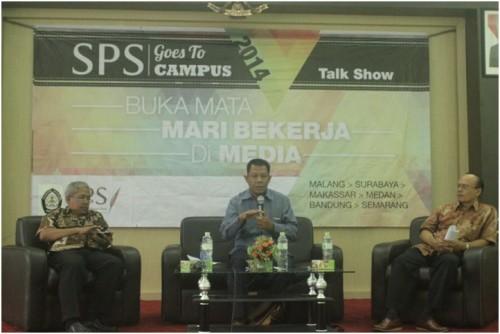 Talkshow SPS Goes To Campus Hadir di FISIP