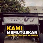 Burjo VJ Tutup Sementara, Ketua BEM SV: Karena Kontrak Habis dan Pertimbangan PPKM